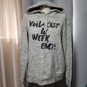 H&M gray hoodie